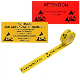EPA35-E Zna�en� EPA, samolep�c� PVC f�lie 300 x 500 mm - n�meck� text